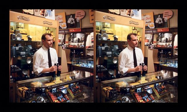 John Kent - Jackson Camera Store - Chicago, IL - March 14, 1953