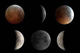 January 21 Eclipse Mosaic