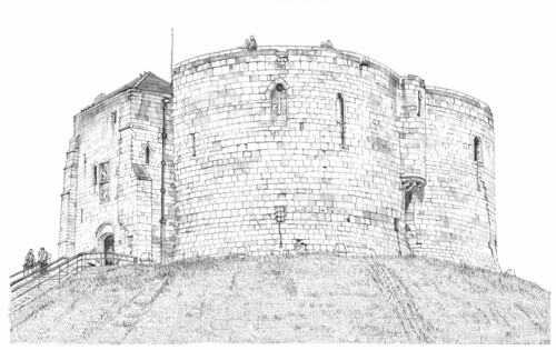 Cliffords Tower, York: A closer view | by Blue York