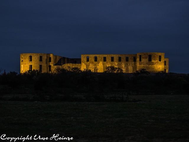 Schloss Borgholm bei Nacht Herbst 2018 01