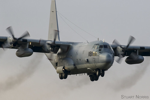 KC-130T Hercules 164181/ NY VMGR-452 - Stewart Air National Guard Base, New York   by stu norris