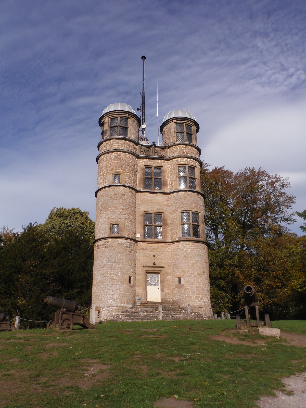 The Hunting Tower, Chatsworth Estate SWC Walk 322 - Grindleford Circular (via Chatsworth House)