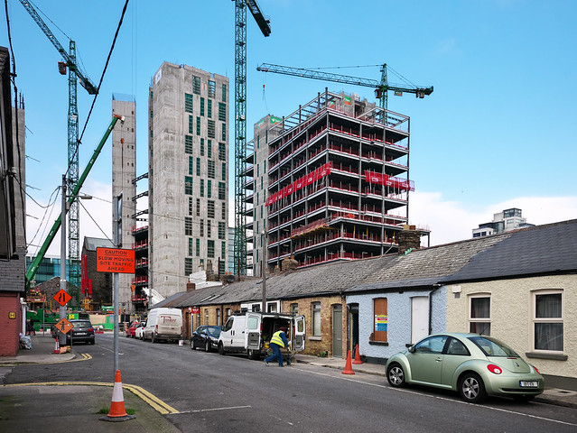 Bolands Quay development from South Dock Street, Ringsend