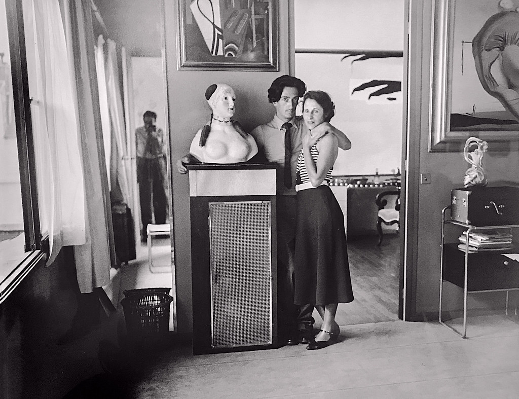 Salvador Dali and Gala at Villa Seurat' by Brassai | Flickr