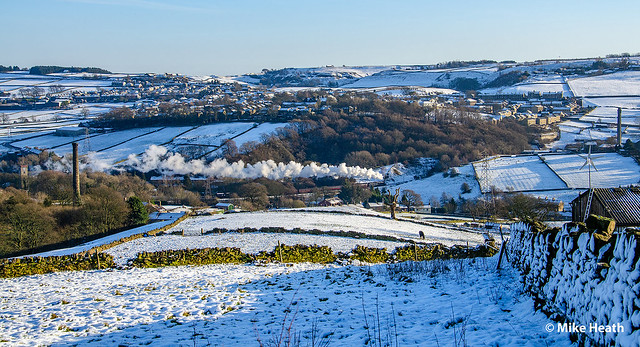 45305 - Keighley & Worth Valley Railway - Mince Pie Special - 28 December 2014