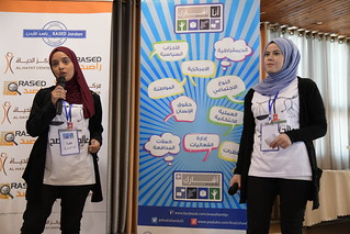 USHAREK STUDENTS AND CSOs FIND COMMON GROUND AND OPPORTUNITIES FOR LONG-TERM COLLABORATION AT NDI AND RASED EVENT IN ZARQA, EAST JORDAN | by maysam90.hadidi
