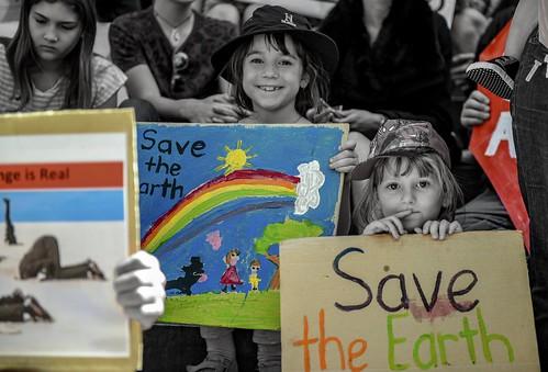 Adelaide School Strike, 30 Nov, credit Sam Rateague | by schoolstrike4climate