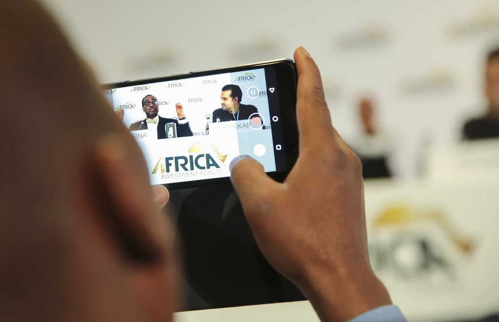 Africa Investment Forum - Launching of the new android