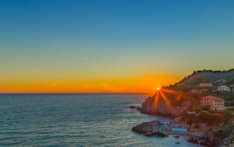 Talamone' sunset