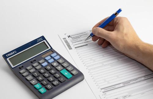 Steuererklärung ausfüllen   by wuestenigel