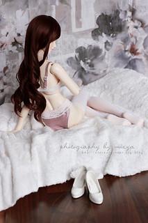 Sweet in lingerie | by mizya