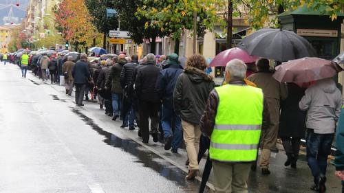 Artxibosko argazkia: Manifestación pensionistas