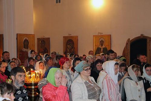Пасхальное Богослужение в Свято-Никольском храме станицы Кавказской IMG_1258