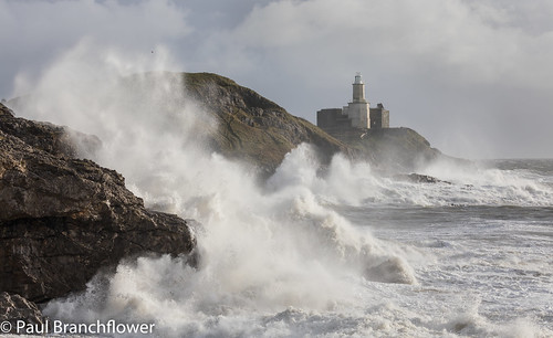 mumbles storm diana swansea wales