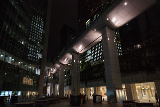Privately Owned Public Space in Central Tokyo   by michaelvito