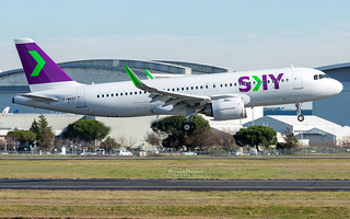 Airbus A320 Neo Sky Airline CC-AZJ   by French_Painter