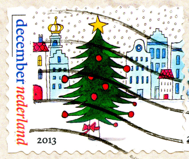 wonderful dutch xmas stamp 55c Netherland (painting by Sieb Posthuma 1960-2014) Kerstmis zegels Nederland Noël Pays-Bas jul Holland Niderlandy Boże Narodzenie Karácsony Hollandia Países Bajos Navidad クリスマス  オランダ Нидерланды рождество joulu Hollanti Nyderla