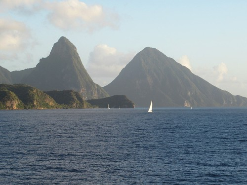Petit Piton and Gros Piton | by D-Stanley