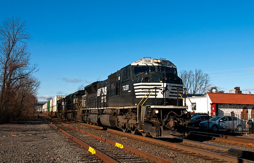 csao ns norfolksouthern emd sd80mac lehighline southplainfieldnj ns212 train railfan railroad
