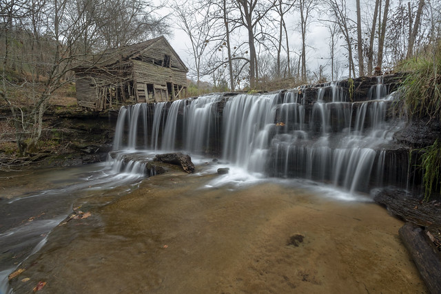Little Eagle Creek Falls, Overton County, Tennessee 2