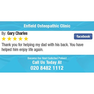 5 Star Review | by EnfieldOsteopathicClinic