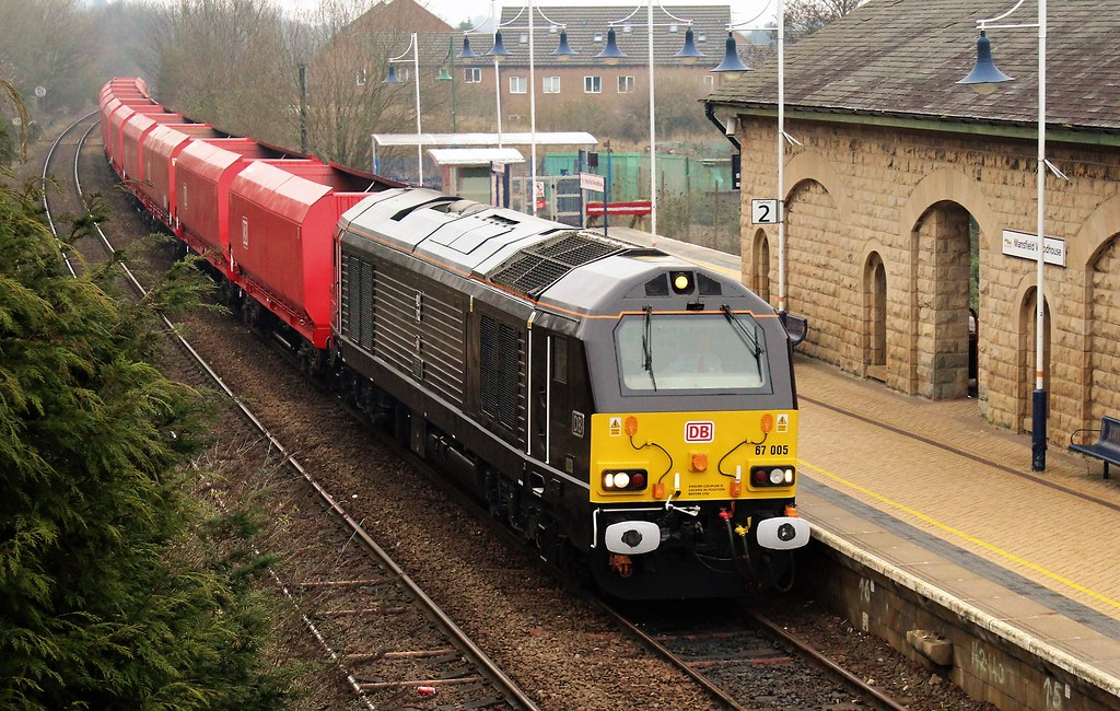 DB Cargo 67005 - Mansfield Woodhouse