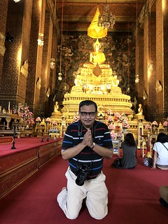 I was assured that a few seconds of having my back towards the Buddha were Ok | by shankar s.