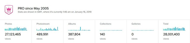 Bragging a Bit ~ I Hit 28 Million Photostream Views Today