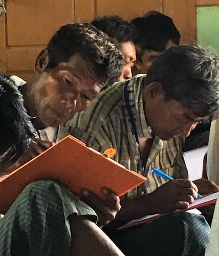 myanmar learning monitoringandevaluation farmers survey