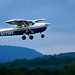 A civil Air Patrol Cessna takes off on a mission. Photo // Civil Air Patrol