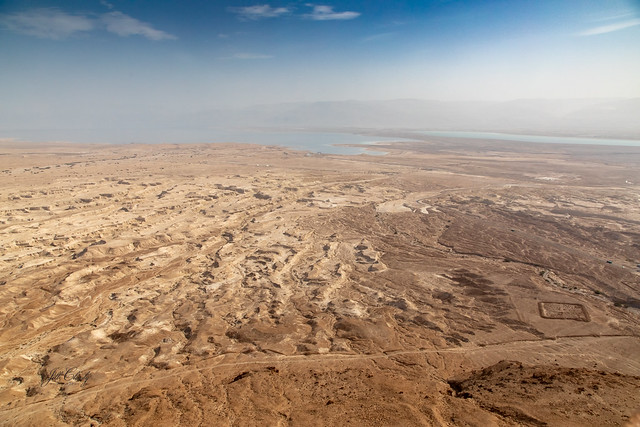 The Judaean Desert & Dead Sea as Seen from the Fortress of Masada