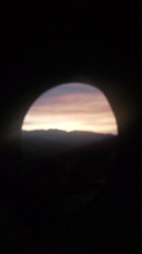 capelo coimbra portugal prt hole through sunset