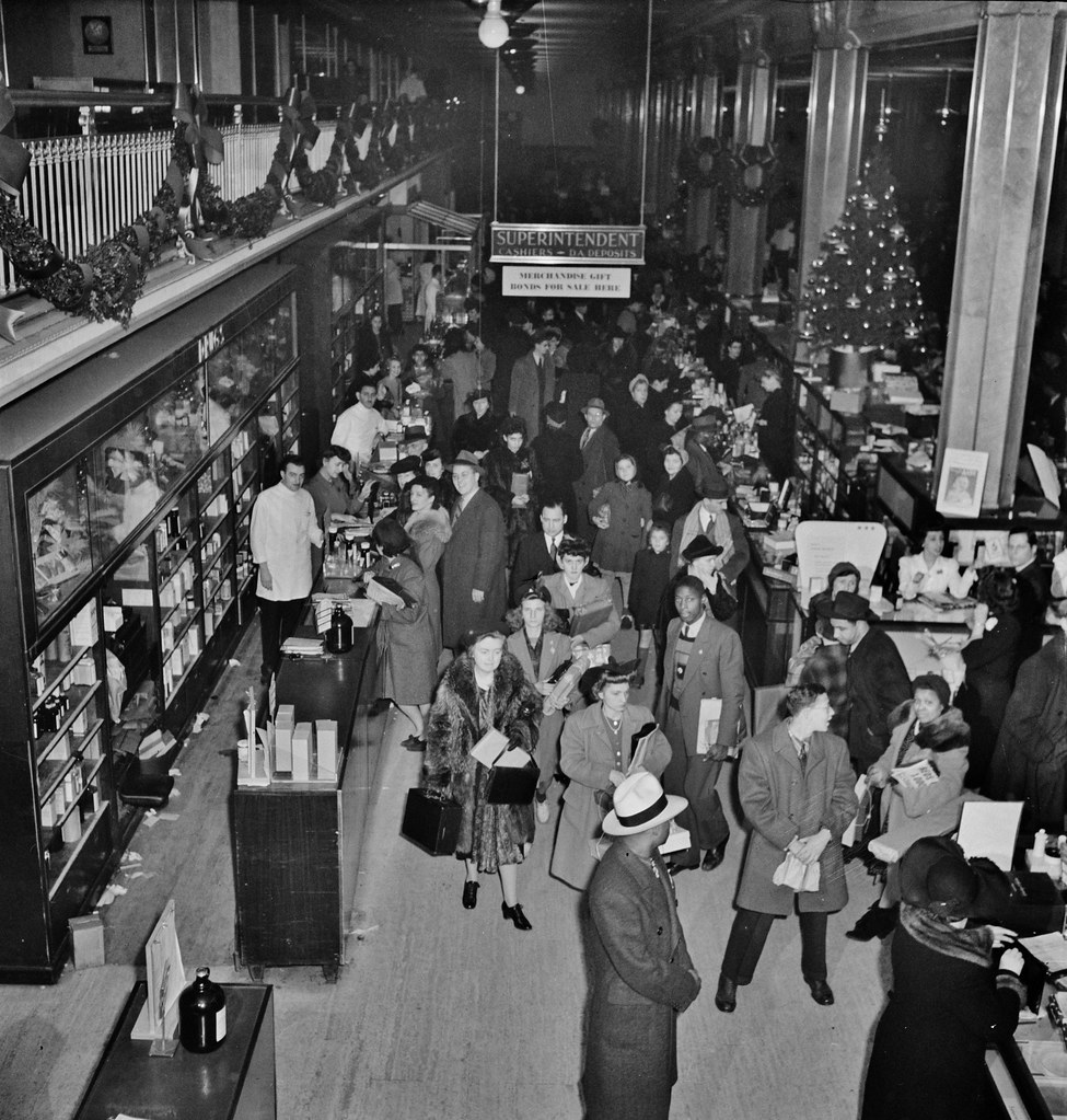 Holiday Rush: R. H. Macy And Company Department Store Duri