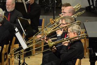 Trombon-sektionen i Järfälla