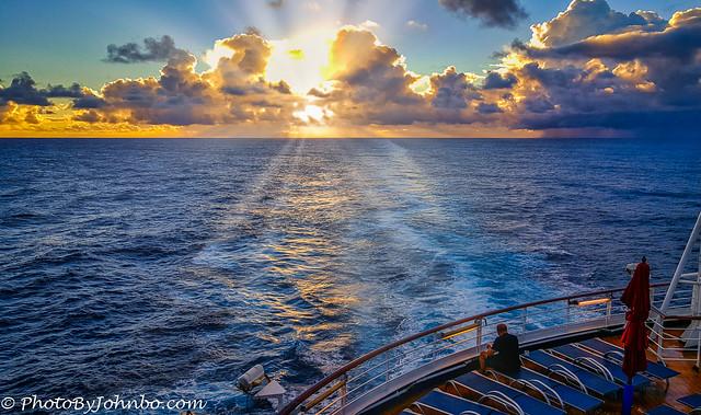 Sunset at Sea-1