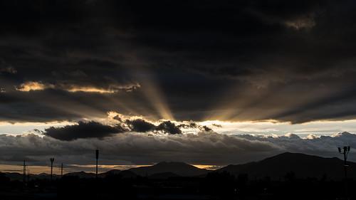 sunset cloudly nikon nikon5300 landscape atardecer paisaje santiago chile scl