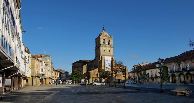 Plaza de España o Plaza Mayor (Aguilar de Campoo)