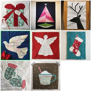 Christmas Quilt Blocks - So Far.... patterns by Amy at www.duringquiettime.com