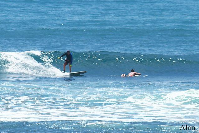 Surf lessons, Bali, Geger Left, Surf report (December 14