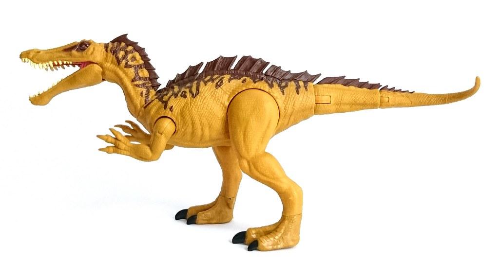 Jurassic World Mega Dual Attack Action Figure Suchomimus