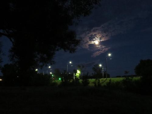 Луна над дорогой   by teh.raven