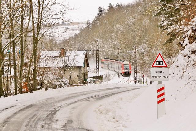 Train intercités 15942 l'Aubrac [Béziers - Neussargues - (Clermont)]