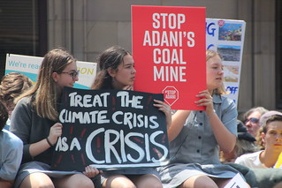Treat the Climate Crisis as a Crisis - #climatestrike Melbourne IMG_3488