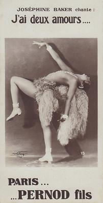 Josephine Baker (front),