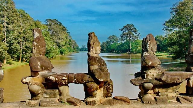 Angkor Thom Gates