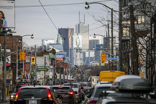 Toronto downtown from Dundas Street West | by jer1961