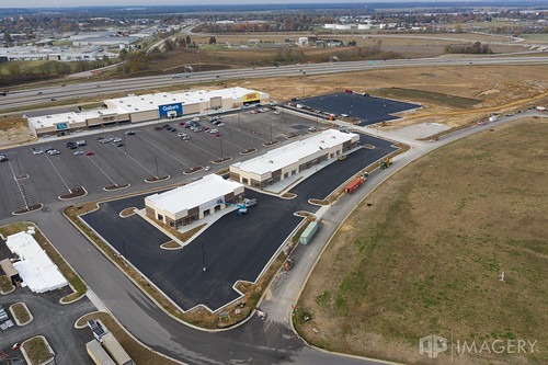 retail development stores commons mall strip owensboro aerial hwy54 gateway construction kentucky usa