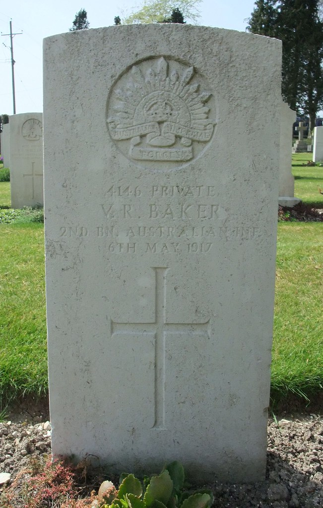 Private Victor Roy Baker