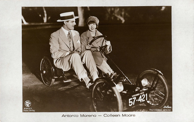 Colleen Moore and Antonio Moreno in Synthetic Sin (1929)