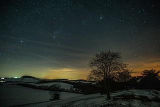 Orion und Plejaden
